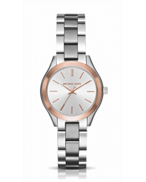 Часы Michael Kors Mini Slim Runway Two-Tone Watch MK3514