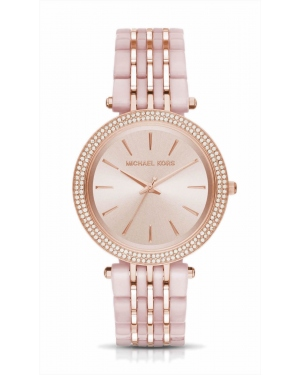 Часы Michael Kors Darci Pave Two-Tone Watch MK4327