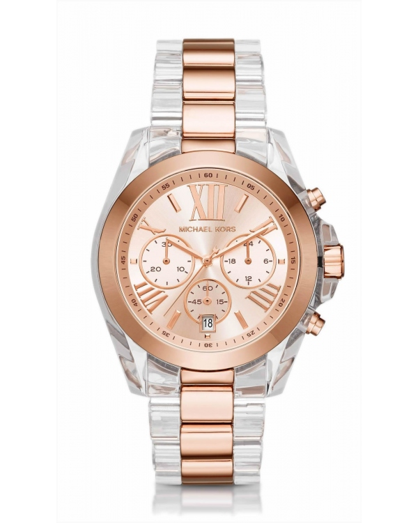 Часы Michael Kors Oversized Bradshaw Two-Tone Watch MK6358