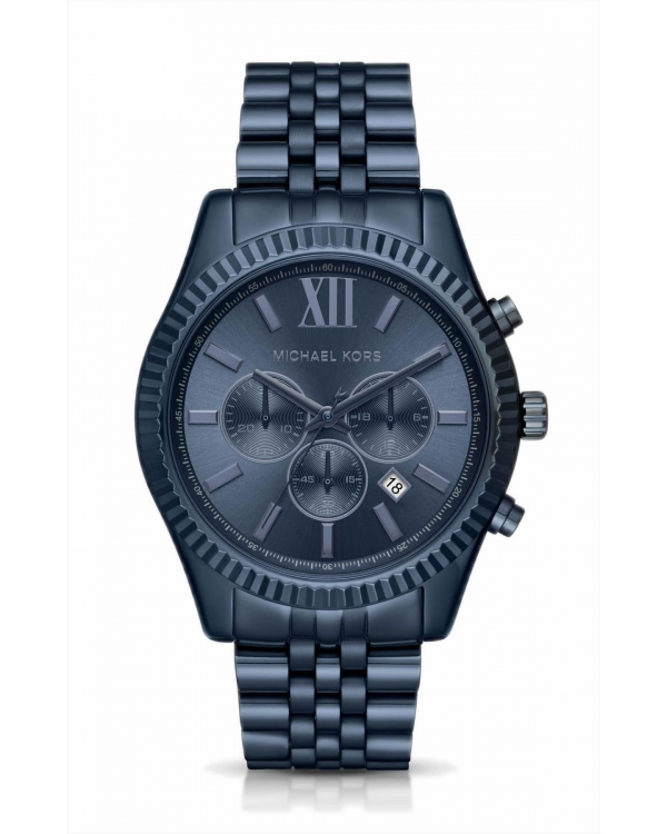 Часы Michael Kors Lexington Blue-Tone Watch MK8480
