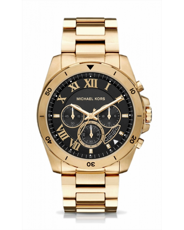 Часы Michael Kors Brecken Gold-Tone Watch МК8481