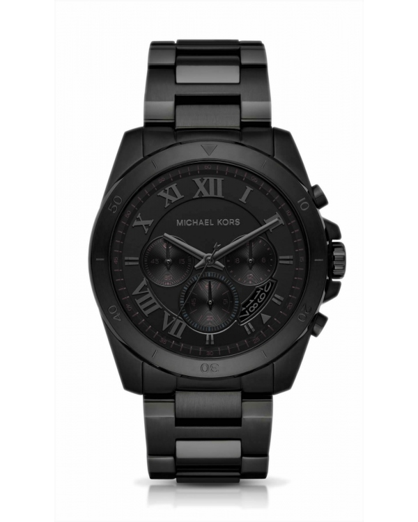 Часы Michael Kors Brecken Black-Tone Watch MK8482