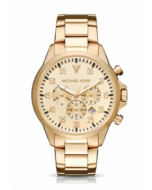 Часы Michael Kors Gage Gold-Tone Watch MK8491