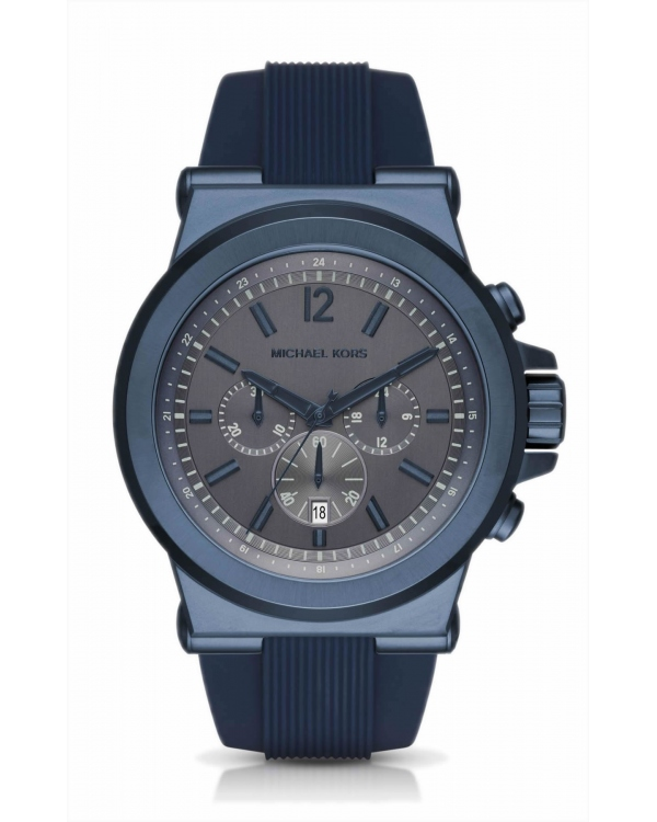 Часы Michael Kors Dylan Blue-Tone And Silicone Watch MK8493