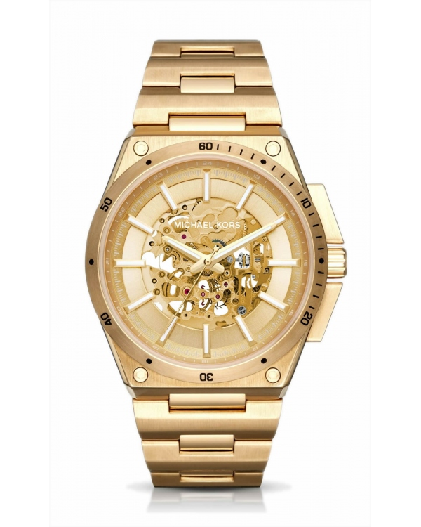 Часы Michael Kors Wilder Automatic Gold-Tone Watch MK9027