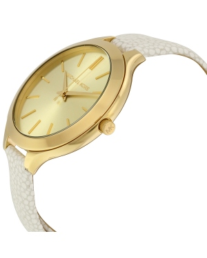 Часы Michael Kors Slim Runway Double Wrap Gold Tone Watch MK2477