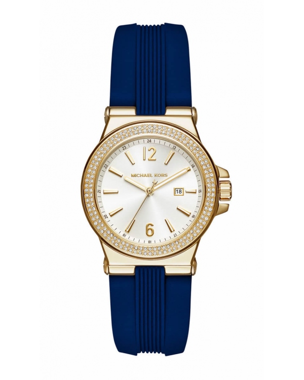 Часы Michael Kors Mini Dylan Gold-Tone And Silicone Watch MK2490