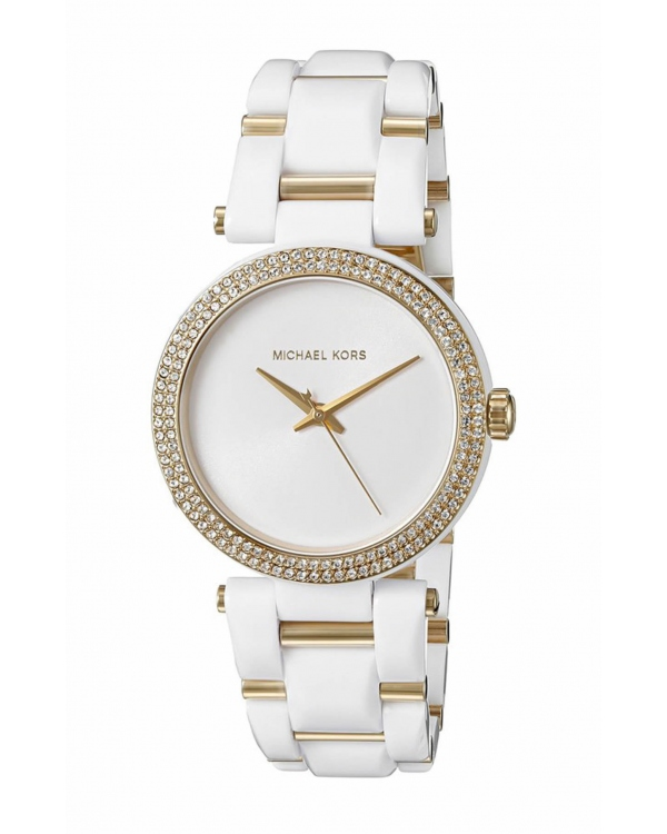 Часы Michael Kors Delray Gold-Tone and Acetate Watch MK4315