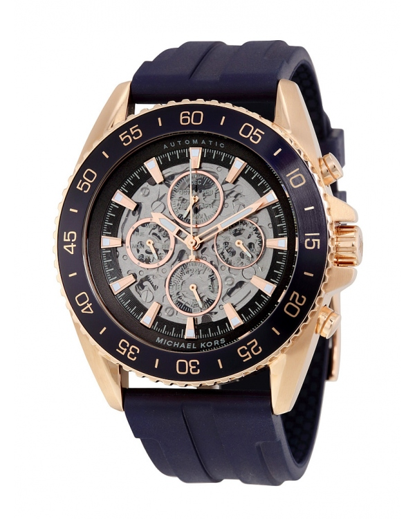 Часы Michael Kors Jetmaster Skeleton Dial Multifunction Men Watch MK9025