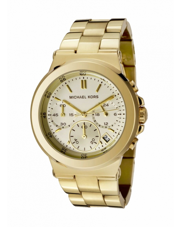 Часы Michael Kors Runway Gold-Tone Stainless Steel Watch MK5222