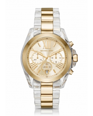 Часы Michael Kors Bradshaw Gold-Tone And Acetate Watch MK6319