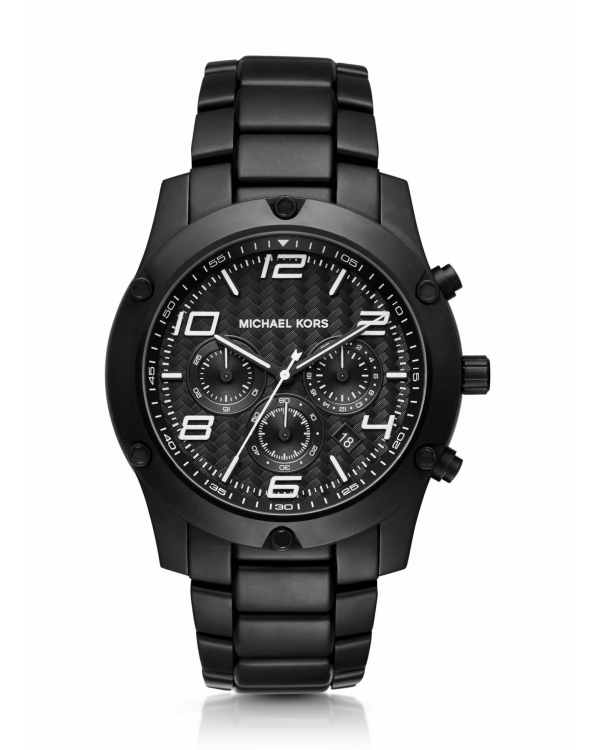 Часы Michael Kors Caine Black-Tone Watch MK8473