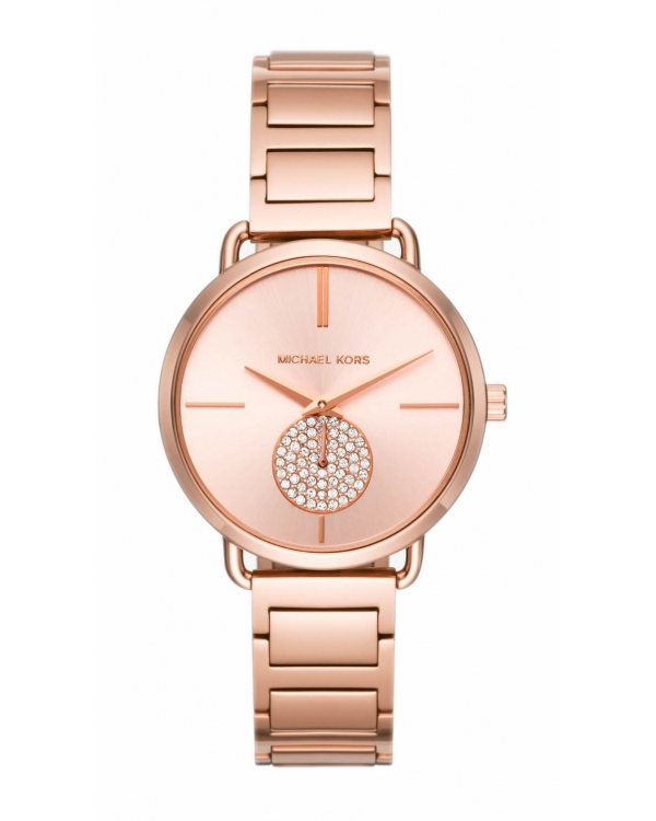 Часы Michael Kors Portia Rose Gold-Tone Watch MK3640