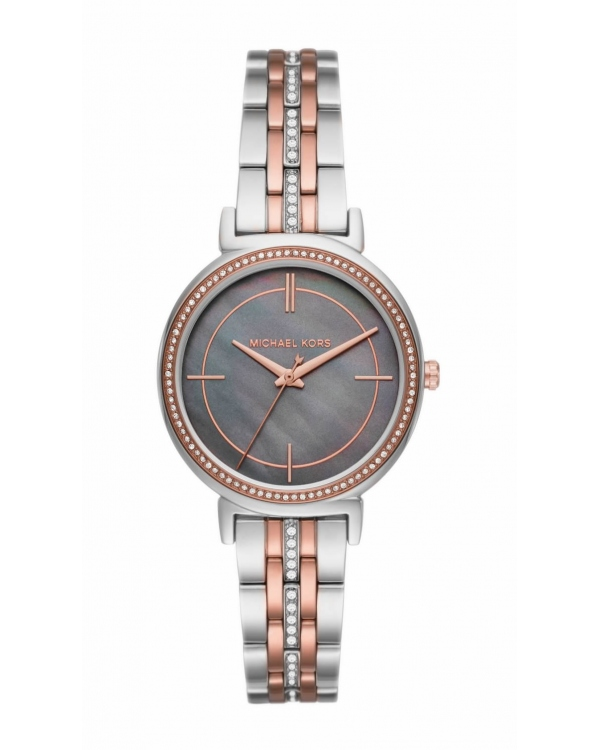 Часы Michael Kors Cinthia Pave Two-Tone Watch MK3642