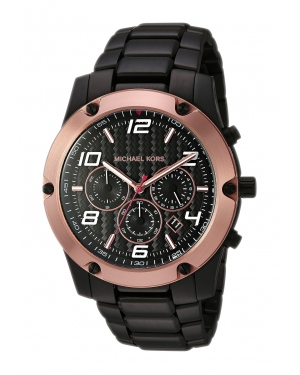 Часы Michael Kors Caine Chronograph Black Dial Mens Watch MK8513