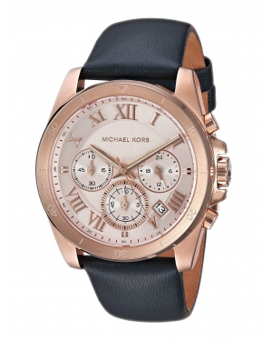 Часы Michael Kors Brecken Rose Gold Dial Ladies Chronograph Watch MK2634