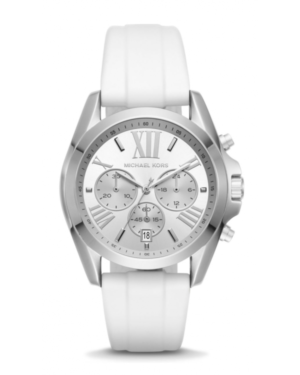 Часы Michael Kors Bradshaw Silver Dial Ladies Chronograph Watch MK2651
