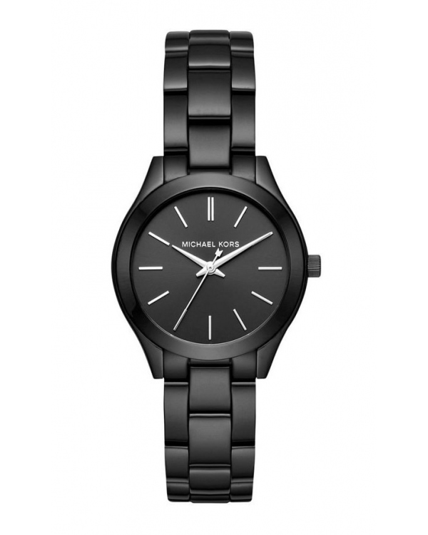 Часы Michael Kors Mini Slim Runway Black Dial Ladies Watch MK3587