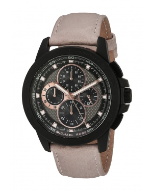 Часы Michael Kors Ryker Chronograph Black Dial Mens Watch MK8520