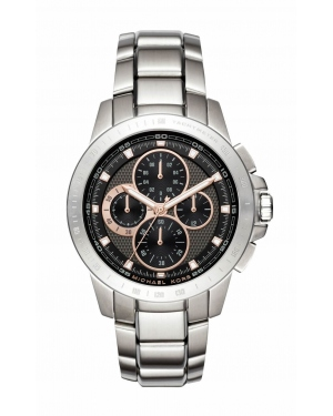 Часы Michael Kors Ryker Chronograph Black Dial Mens Watch MK8528