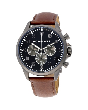 Часы Michael Kors Gage Black Dial Mens Chronograph Watch MK8536