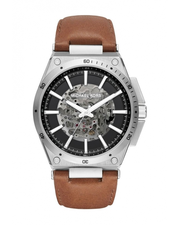 Часы Michael Kors Wilder Skeleton Dial Automatic Mens Watch MK9030