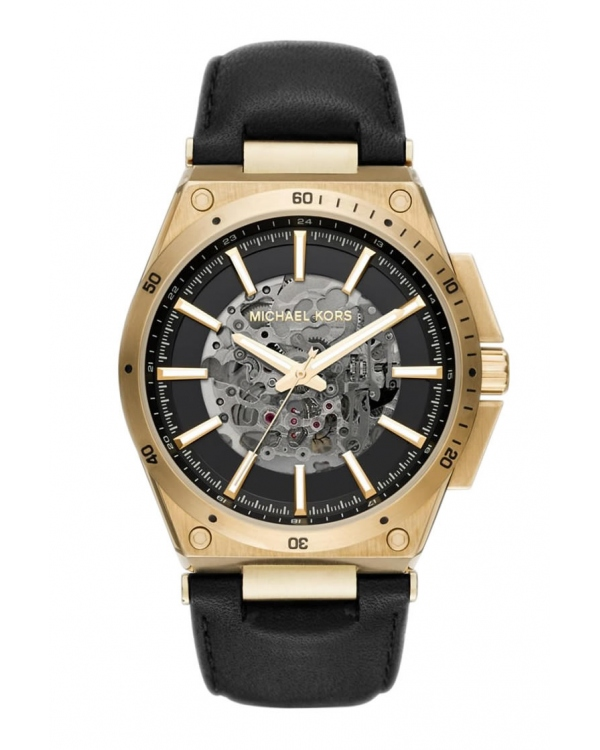 Часы Michael Kors Wilder Skeleton Dial Automatic Mens Watch MK9031