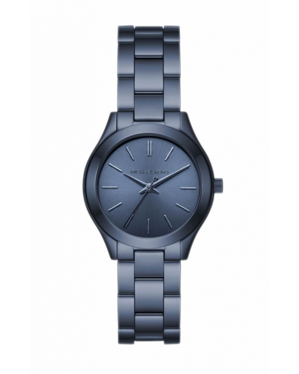 Часы Michael Kors Slim Runway Navy-Tone Watch MK3657