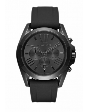 Часы Michael Kors Bradshaw Black-Tone and Silicone Watch MK8560