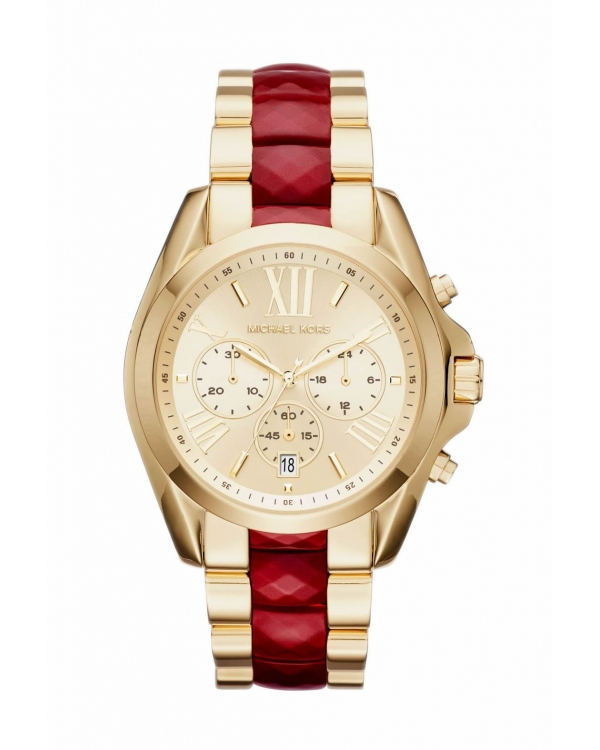 Часы Michael Kors Bradshaw Gold-Tone And Acetate Watch MK6443
