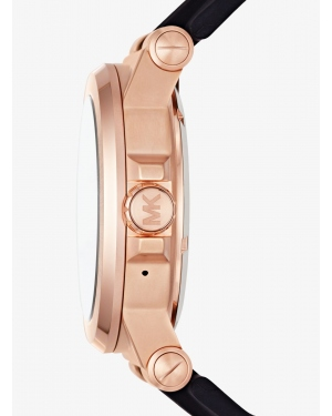 Часы Michael Kors Access Dylan Silicone Rose Gold-Tone Smartwatch MKT5010