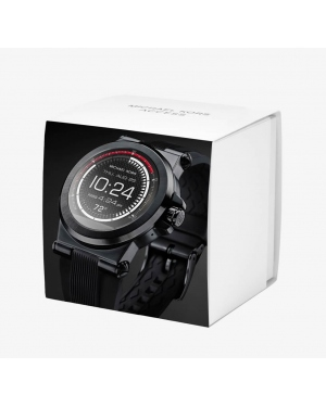 Часы Michael Kors Access Dylan Silicone Black-Tone Smartwatch MKT5011