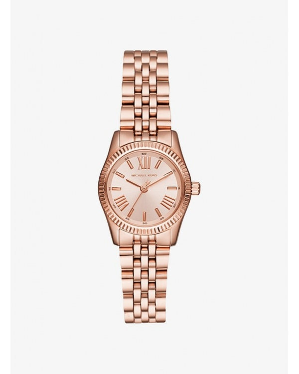 Часы Michael Kors Petite Lexington Rose Gold-Tone Watch MK3875