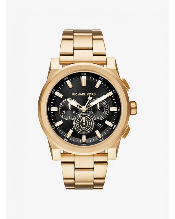 Часы Michael Kors Grayson Gold-Tone Watch MK8599