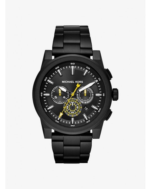 Часы Michael Kors Grayson Black-Tone Watch MK8600
