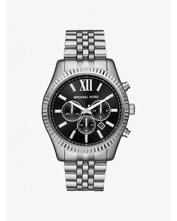 Часы Michael Kors Lexington Silver-Tone Watch MK8602
