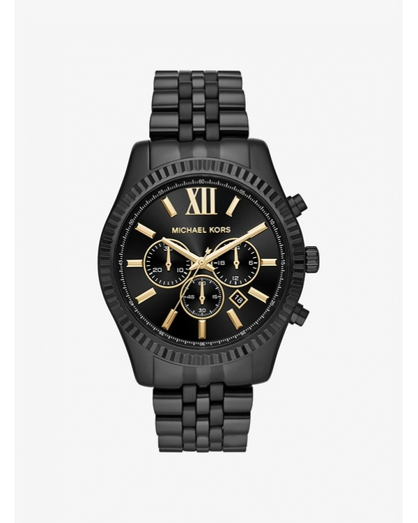 Часы Michael Kors Lexington Black-Tone Watch MK8603