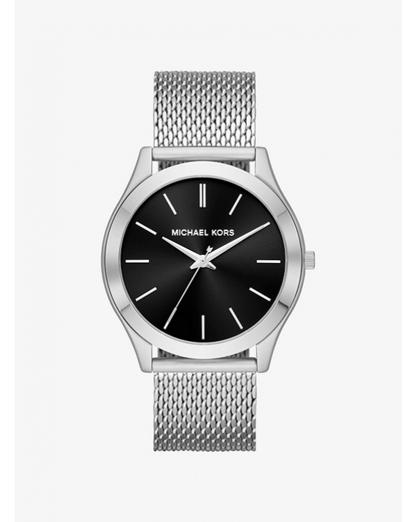 Часы Michael Kors Slim Runway Mesh Silver-Tone Watch MK8606