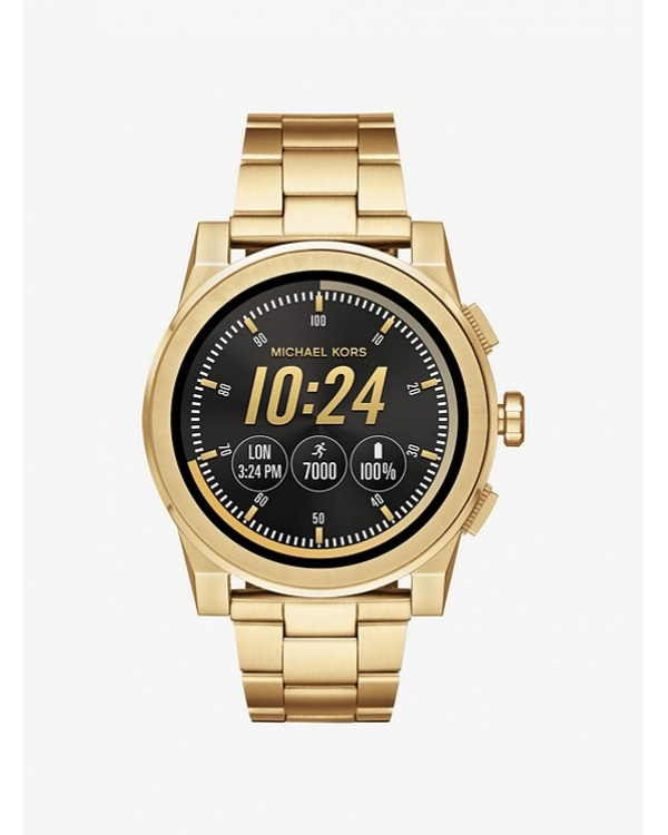 Часы Michael Kors Access Grayson Gold-Tone Smartwatch MKT5026