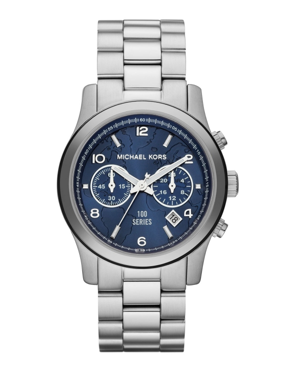 Часы Michael Kors Watch Hunger Stop Mid-Size 100 Series Watch Silver MK5814