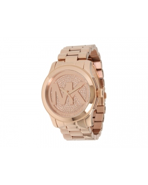 Часы Michael Kors Runway Uptown Glam Rose Dial Gold-tone Ladies Watch MK5661