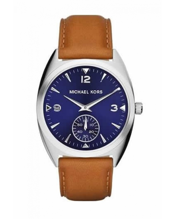 Часы Michael Kors Callie Blue Dial Tan Leather Watch MK2372