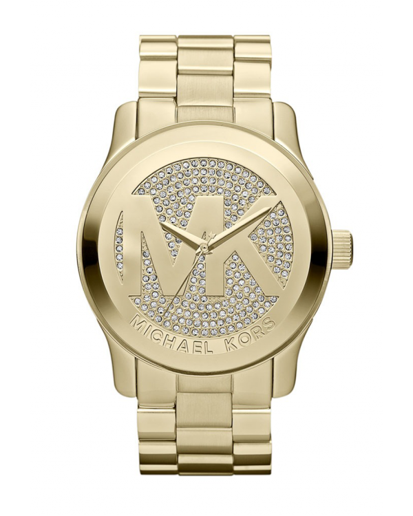Часы Michael Kors Runway Uptown Glam Dial Gold-tone Ladies Watch MK5706