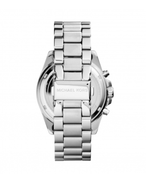 Часы Michael Kors Bradshaw Blue Dial Silver-Tone Stainless Steel Watch MK6099