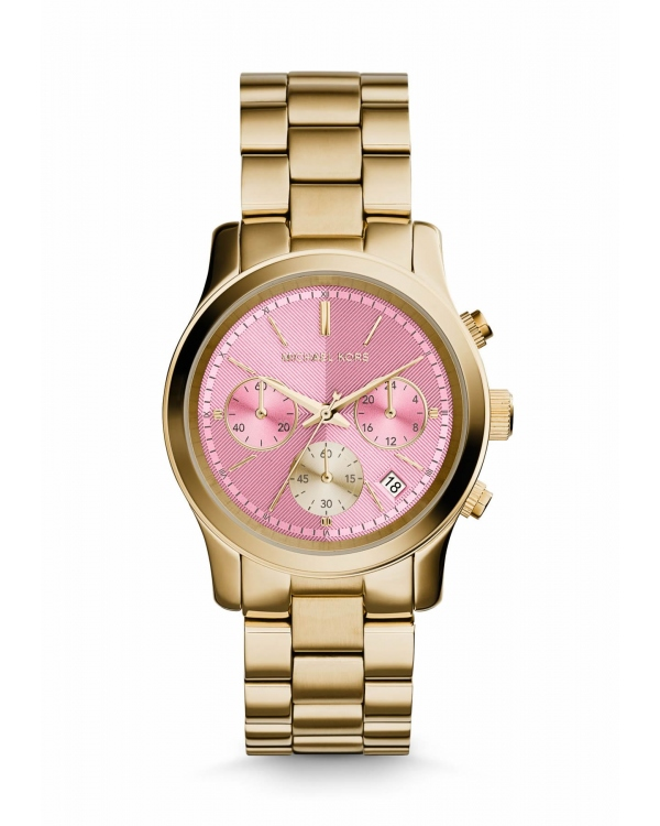 Часы Michael Kors Runway Gold-Tone Watch MK6161