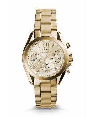 Часы Michael Kors Bradshaw Gold-Tone Stainless Steel Watch MK5798