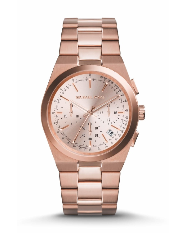 Часы Michael Kors Channing Rose Gold-Tone Stainless Steel Watch MK5927