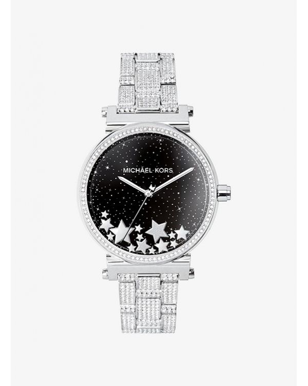 Часы Michael Kors Access Sofie Pave Silver-Tone Smartwatch MKT5024