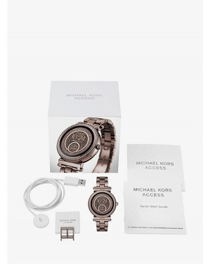 Часы Michael Kors Access Sofie Pave Sable-Tone Smartwatch MKT5030