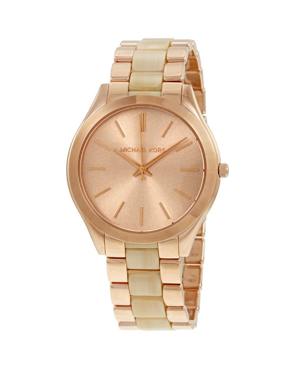 Часы Michael Kors Slim Runway Rose Gold-tone Ladies Watch MK3714